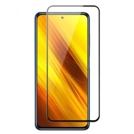 Full cover 3D tvrzené sklo 9H pro Xiaomi Poco X3 černé