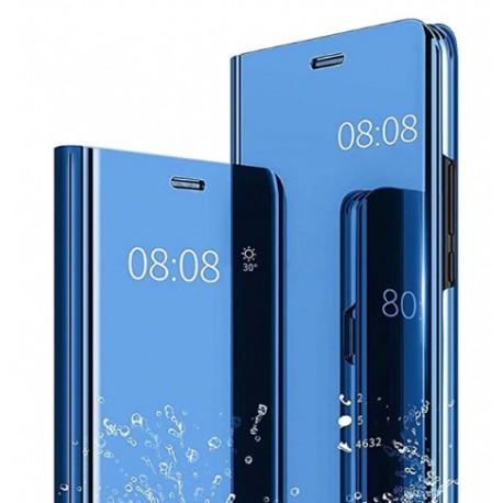 Smart pouzdro Mirror pro Xiaomi Poco X3 modré
