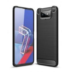 Silikonové pouzdro CARBON pro Asus Zenfone 7 Pro ZS671KS černé