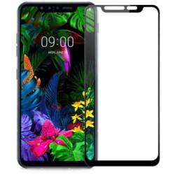 Full cover 3D tvrzené sklo 9H pro LG G8 ThinQ černé