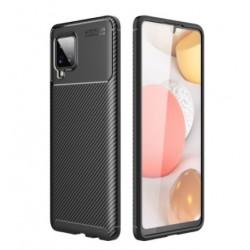 Silikonové pouzdro CARBON pro Samsung Galaxy A42 5G černé