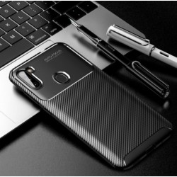 Silikonové pouzdro CARBON pro Samsung Galaxy M11 černé