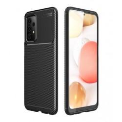 Silikonové pouzdro CARBON pro Samsung Galaxy A52 černé