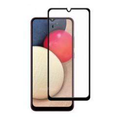 Full cover 3D tvrzené sklo 9H pro Samsung Galaxy A02s černé