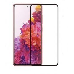 Full cover 3D tvrzené sklo 9H pro Samsung Galaxy S20 FE černé