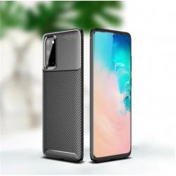 Silikonové pouzdro CARBON pro Samsung Galaxy S20 FE černé