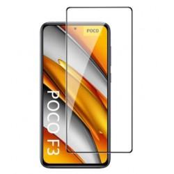 Full cover 3D tvrzené sklo 9H pro Xiaomi Poco F3 černé