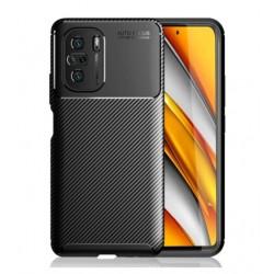 Silikonové pouzdro CARBON pro Xiaomi Poco F3 černé