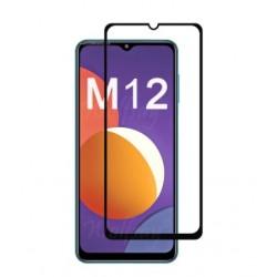 Full cover 3D tvrzené sklo 9H pro Samsung Galaxy M12 černé