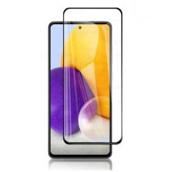 Full cover 3D tvrzené sklo 9H pro Samsung Galaxy A72 černé