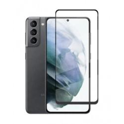 Full cover 3D tvrzené sklo 9H pro Samsung Galaxy S21+ 5G černé