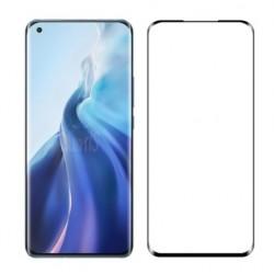 Full cover 3D tvrzené sklo 9H pro Xiaomi Mi 11 černé