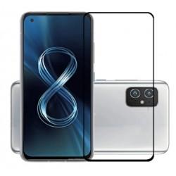 Full cover 3D tvrzené sklo 9H pro Asus Zenfone 8 černé