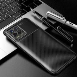 Silikonové pouzdro CARBON pro Realme 8 Pro černé
