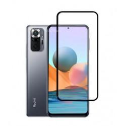 Full cover 3D tvrzené sklo 9H pro Xiaomi Redmi Note 10 5G černé