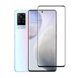 Full cover 3D tvrzené sklo 9H pro Vivo X60 Pro 5G černé