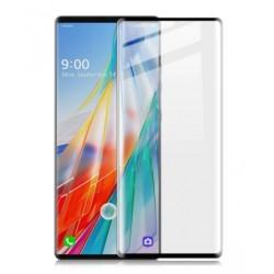 Full cover 3D tvrzené sklo 9H pro LG Wing 5G černé
