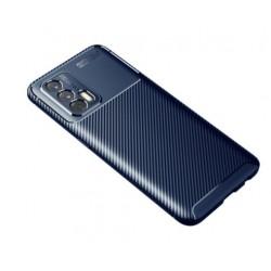 Silikonové pouzdro CARBON pro Realme GT 5G modré