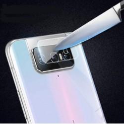 3x Tvrzené sklo na čočku fotoaparátu a kamery pro Asus Zenfone 7 Pro