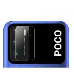 3x Tvrzené sklo na čočku fotoaparátu a kamery pro Xiaomi Poco M3