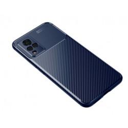Silikonové pouzdro CARBON pro Vivo V21 5G modré