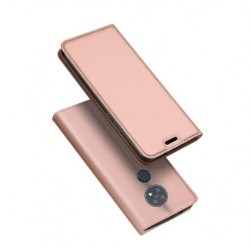 Flipové pouzdro DUX Premium pro Nokia 6.2 růžové