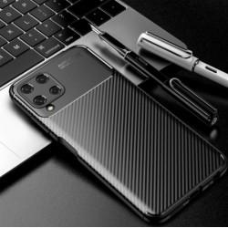 Silikonové pouzdro CARBON pro Samsung Galaxy A22 černé