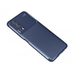 Silikonové pouzdro CARBON pro Vivo Y72 5G modré