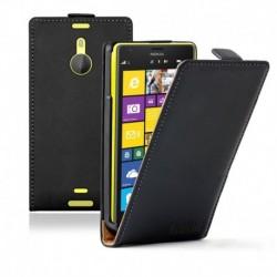Nokia Lumia 1520 flip kožené pouzdro černé