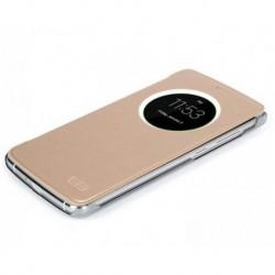 Originální Smart flip pouzdro S-View pro Elephone P7000 zlaté