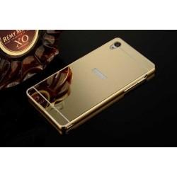 Hliníkový rámeček + back case pro Sony Xperia Z5 Premium zlatý