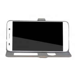 Flipové pouzdro DUX Premium pro Google Pixel 2 zlaté